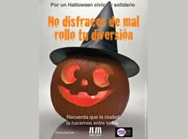 Por un Halloween cívico y solidario