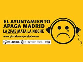 Este fin de semana comenzó la campaña el Ayuntamiento apaga Madrid en los locales del Distrito Centro de Madrid