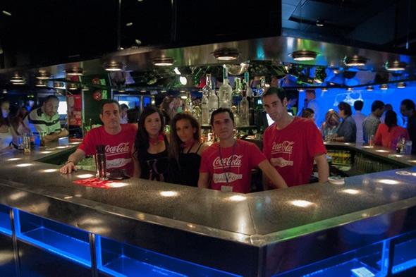 Celebración de San Bartolo en la discoteca Joy Slava de Madrid