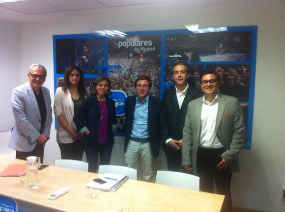 Vicente Pizcueta,Blanca del Amo,Almudena Maillo (PP),Jose Luis Martinez Almedia (PP),Javier Olmedo,Miguel Ángel Santa