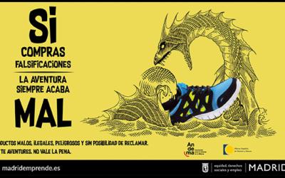 El Ayuntamiento de Madrid pone en marcha una nueva campaña contra la venta ambulante y las falsificaciones