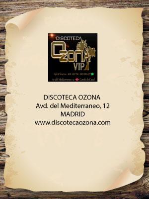 Asociados noche madrid - Discoteca ozona madrid ...