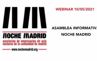 ASAMBLEA INFORMATIVA NOCHE MADRID 10.05.21